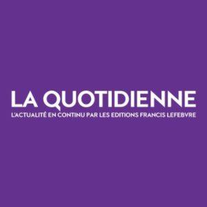 Nouvelle Collaboration De Djinn QUEVREUX-ROBINE à La Quotidienne