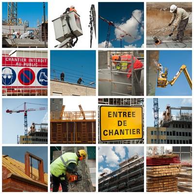 Composition Chantiers De Construction